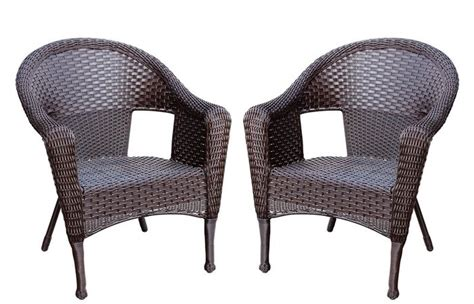 Alcott Hill Kentwood Resin Wicker Patio Chair Without