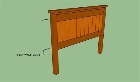 headboard plans queen size plans diy