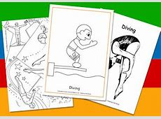 Commonwealth Games Colouring Pages