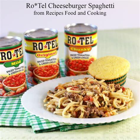 crock pot in walmart ro tel cheeseburger spaghetti recipes food and cooking