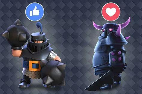 The Dark Knight Hd Mega Knight Vs Pekka 클레시로얄 Pinterest