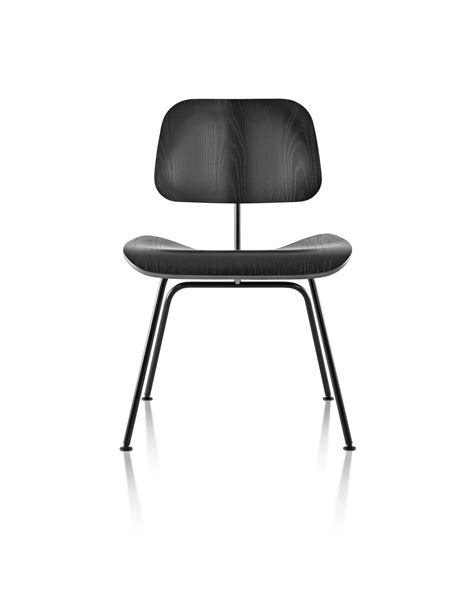herman miller eames 174 molded plywood dining chair metal