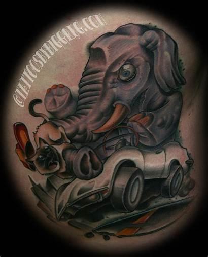 Corvette Tattoos Elephant