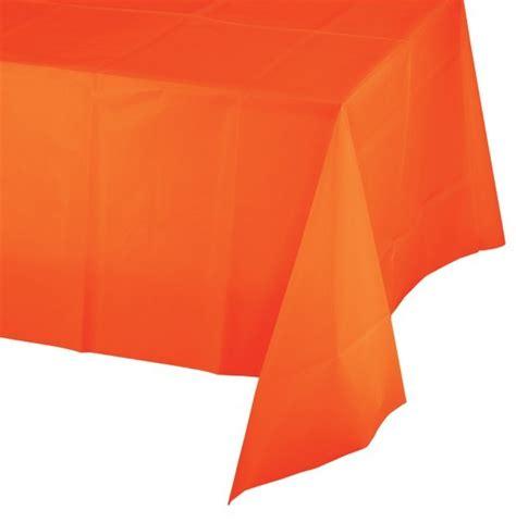 Tischdecke Plastik by Plastik Tischdecke In Orange