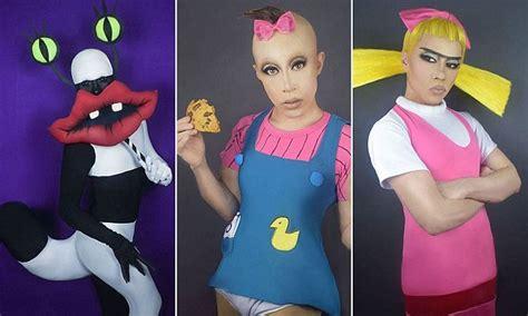 Makeup Artist Transforms Into Our Favorite '90s Cartoon