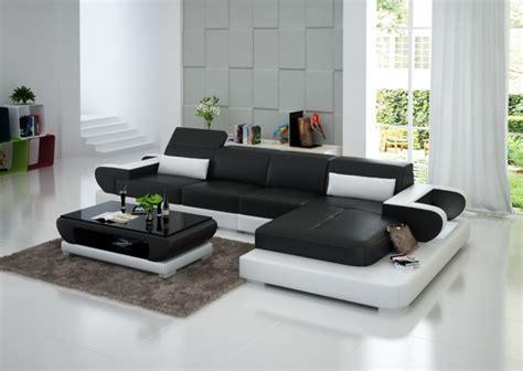 canapé noir et blanc pas cher canape d 39 angle noir et blanc pas cher