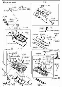 Mazda Mazda 6 Bolt  Cylinder Head Cover