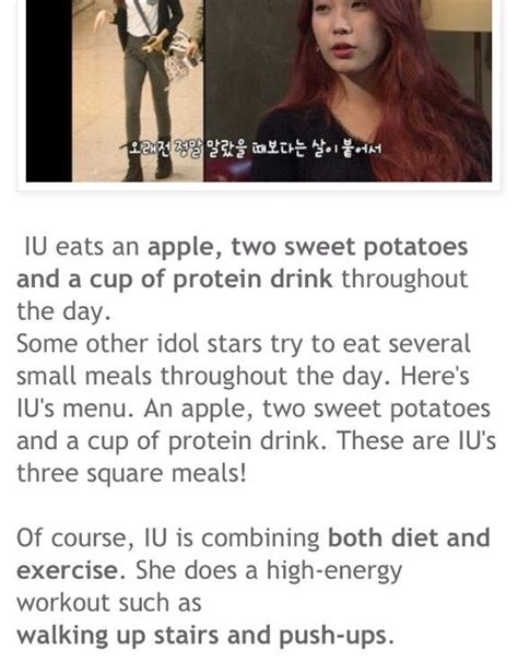 1 meal a day diet kpop news