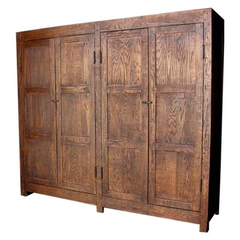 closet cabinet for sale dos gallos custom large oak wood cabinet or wardrobe for