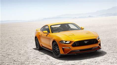 Ford Mustang V8 Gt 2018 Wallpapers