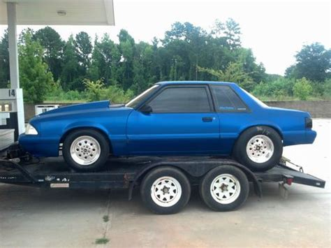 sell  mustang coupe draggrudge race car  elberton