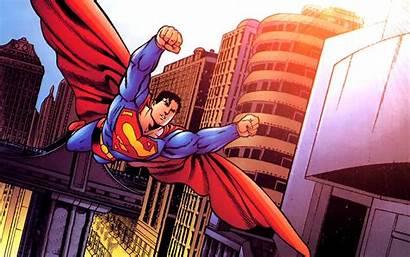 Superman Dc Comics Background Wallpapers Desktop Comic