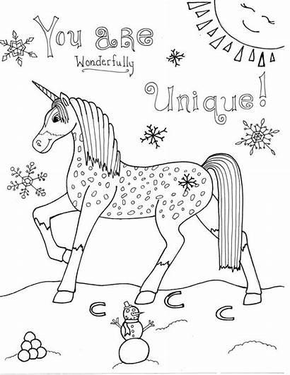 Unicorn Coloring Pages Rare Unique Gem