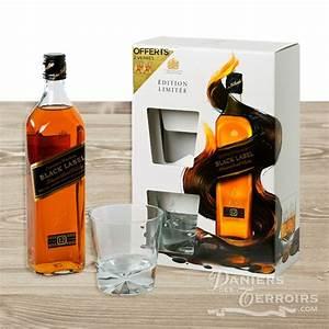 Coffret Whisky Avec Verre : coffret whisky johnny walker black label 2 verres ~ Teatrodelosmanantiales.com Idées de Décoration