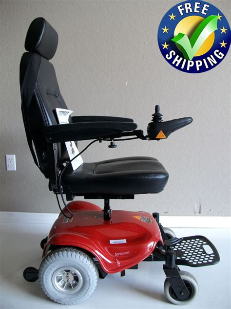 shoprider streamer sport power wheelchair 888wa used