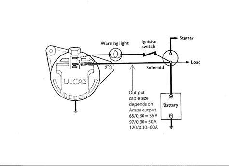 Lucas Alternator Wiring Diagram Auto