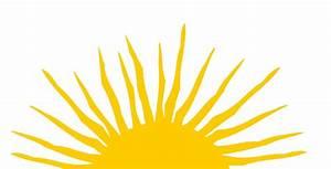 Sunshine Half Sun Clipart