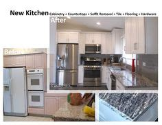 kitchen backsplash pictures cabinet refacing before and after kitchen 5833