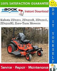 Kubota Zd1211  Zd1211r  Zd1211l  Zd1211rl Zero