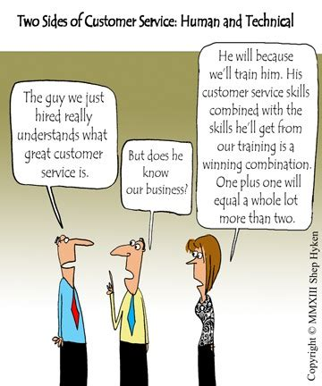 Definition Of Great Customer Service Skills by The Two Sides Of Customer Service Human And