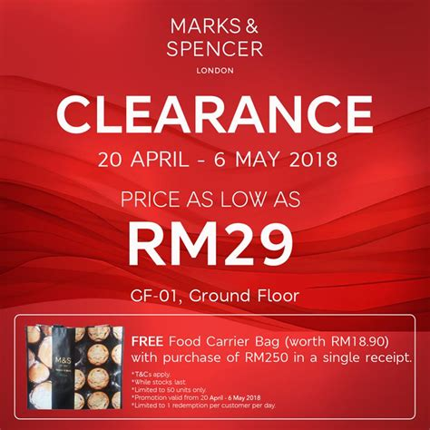 marks spencer clearance sale  paradigm mall