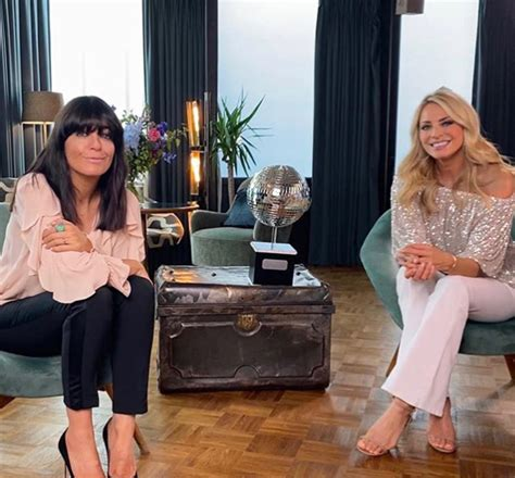 Strictly's Tess Daly wows in polka dots for rare date ...