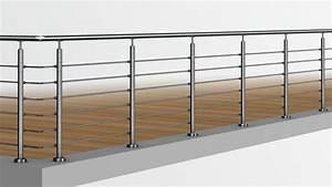Treppengeländer Selber Bauen Stahl : edelstahlgel nder einfach selber bauen mit baus tzen von ~ Lizthompson.info Haus und Dekorationen