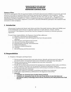 Magnificent infection control plan template photos for Bloodborne pathogens policy template