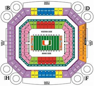 Carolina Hurricanes Seating Chart Miami Hurricanes 2011 College Football Schedule