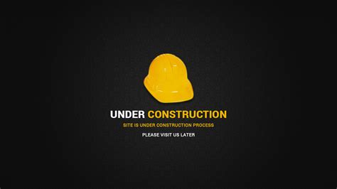 Simple Construction Html Page Free Construction Page Web Elements On Creative Market