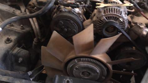 how to remove fan clutch como desmontar embrague de ventilador con llave casera