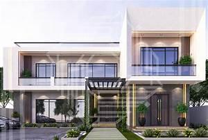Modern, Luxury, Villa, Exterior