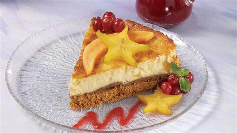g 226 teau au fromage et aux fruits exotiques recettes iga dessert fromage 224 la cr 232 me recette