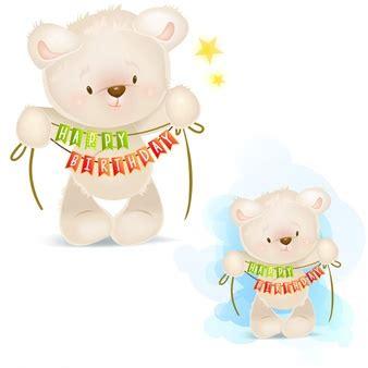 clipart compleanno gratis orsacchiotto foto e vettori gratis