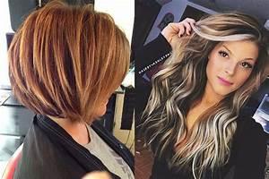 Couleur Ou Meche Pour Cacher Cheveux Blancs : couleur meche femme 2018 coupe de cheveux la mode ~ Melissatoandfro.com Idées de Décoration