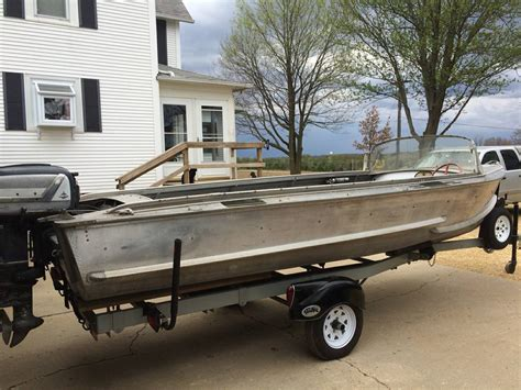 Voyager Aluminum Boats by Crestliner Voyager 1956 For Sale For 3 500 Boats From