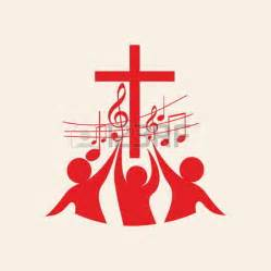 religious crosses cross with notes clipart 21
