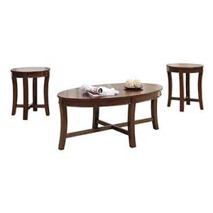 espresso wood 3 piece occasional table set big lots