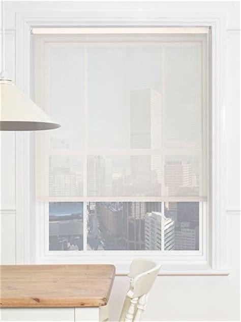 optic linen magic screen roller blind  blinds