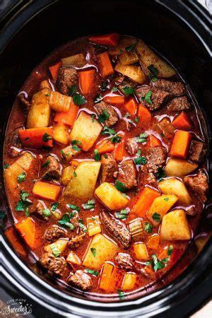 slow cooker harvest chicken  vegetables easy crock