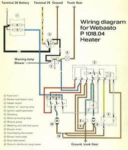 Webasto Heater Wiring Diagram