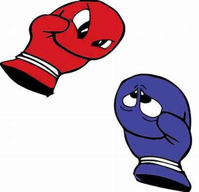 Boxing Gloves Glove Clipart Cartoon Clip Royalty