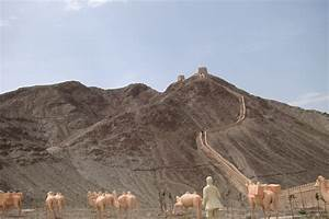 great wall jiayuguan ancient china and wanderlust With deserted great wall of china