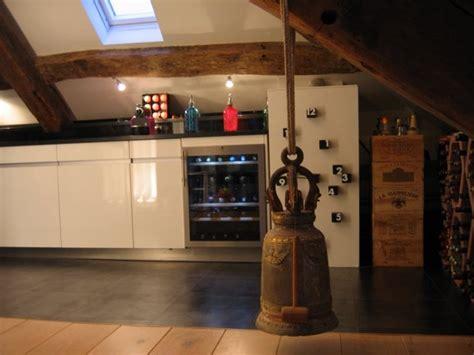 cuisine sous les vo 251 tes photo 3 7 cave 224 vin et r 233 frig 233 rateur