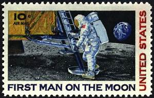 The First Space Shuttle On Moon Stamp (page 2) - Pics ...