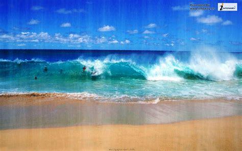 Beautiful Ocean Scenes Wallpaper Wallpapersafari