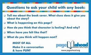 Page Ahead Children's Literacy Program