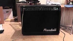 Randall Guitar Amplifier Rg75 75 Watt Guitar Combo G2