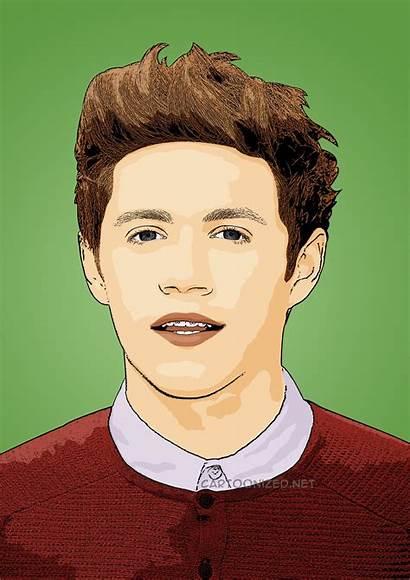 Niall Horan Celebrity Cartoon Cartoons Cartoonized Direction