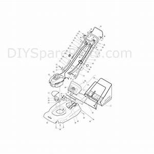 Hayter Harrier 56  560  Lawnmower  560d  Parts Diagram  Page 1